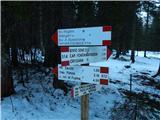 Belopeška jezera / Lago di Fusine - jezerska_planina___alpe_del_lago