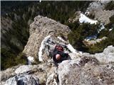 Javorca(Golte)na grebenu pod Javorco