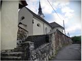 Vodiška planinacerkev sv.Lenarta