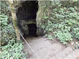 Od Socerba do AnkaranaZaklenjen vhod v Sveto jamo
