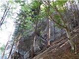 Arihova peč / Arichwand
