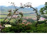 Gradiška turalep pogled na Vipavo