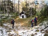 Ojstri vrh 1371mpri gozdarski bajti