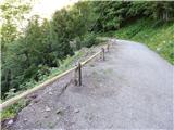 Prelaz Ljubelj (koča)Nova ograja