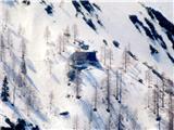 Goli vrh  1787 mnmkoča na Ledinah(približana)