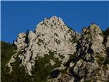 ZelenicaNa grebenu Ljubeljščice