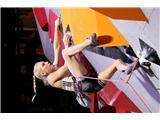 Janja Garnbret potuje na olimpijske igre Tokio 2020Garnbretova se že veseli torkovega finala kombinacije SP (foto Manca Ogrin).