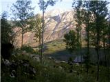 Planina Za Skalo in Kaluderjutro v Vrsniku