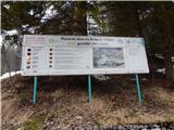 Ljubelj - Koča Vrtača3. stopnja nevarnosti proženja snežnih plazov