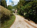 senicno - Zavetišče v Gozdu mountain hut
