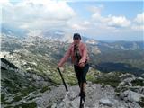 Komnana vrhu Lanzevice, 2003 m