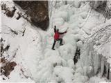 Grape, slapovi, zimski alpinistični vzponiV drugem