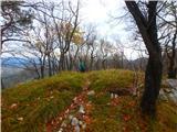 Kamnik ( 861m )greben