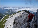 Krnička gora iz Matkove Krnicev grebenu Krničke gore