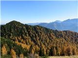 Trupejevo poldne - VošcaLepi vrh