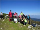 Debela peč, Brda, Lipanski vrh, MrežceMrežce