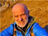 Andreju Štremflju zlati cepin za življenjsko delo v...Andrej Štremfelj, prvi Slovenec, ki bo prejel zlati cepin za življenjsko delo v alpinizmu (foto osebni arhiv).