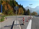 Prelaz Ljubelj (koča)Zaprto parkirišče zaradi gasilske vaje