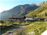 Parkirišče pod planino Jamnig - hagener_hutte