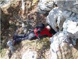 Ojstri vrh 1371mje že spet našel neko luknjo:)