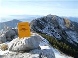 Alta via CAI Gemona (greben Lanež - Veliki Karman)utrinek