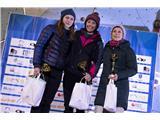 Švicarska prevlada v DomžalahKatja Brunec, Maja Šuštar in Katarina Manovski, najuspešnejše v SHS-pokalu (foto Urban Urbanc).