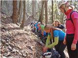Tirske pečipriprave na plezalni del Tirskih peči