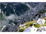 Prečenje Via de la Vita - Vevnica - Strug - Poncepogled z grebena proti Tamarju