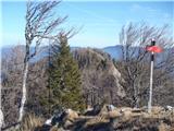 Veliki Rogatecpokuk na prehojen greben