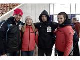 Garnbretova in Kruder zmagala v MoskviJernej Kruder, Janja Garnbret, Anže Peharc in Lučka Rakovec odlični v Moskvi (foto Urh Čehovin).