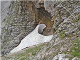 Krnička gora iz Matkove Krnicetudi Škaf še kar vztraja