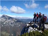 Ojstri vrh 1371mutrinek z Raduho