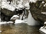 Grape, slapovi, zimski alpinistični vzponislapovi, ...