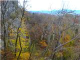 Kamnik ( 861m )pogled nazaj