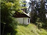 Hudi Graben - sentanski_vrh
