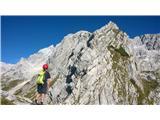 Grebensko prečenje Kranjska Rinka - Skutautrinek na Velikem grebenu