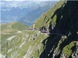 Mont Blanc / Monte Bianco vlak Tramway du Mont-Blanc