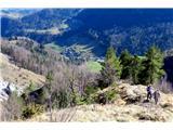 Kamniški vrhstrma pot