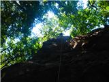 Kamnik ( 861m )pajek :)