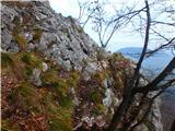 Kamnik ( 861m )najbolj zoprn del poti