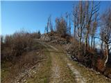 Grahovo ob Bači (Brelih) - Črvov vrh