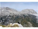 Veliki Draški vrh in ViševnikTudi Rž in Rjavina se pokažeta...