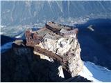 Mont Blanc / Monte Bianco Aiquille du Midi(3842m)