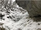 Grape, slapovi, zimski alpinistični vzponiPri prvem