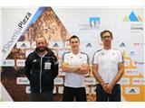 Športni plezalci v boj za svetovna odličja...Urh Čehovin, Gorazd Hren in Luka Fonda (foto Manca Ogrin).