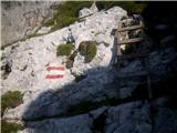 Divja koza - Cima di Riofreddo 2507 mhmmm, mogoče sviščeva lestev?!:)