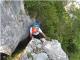 Javorca(Golte)plezanje po grebenih Okna