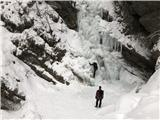 Grape, slapovi, zimski alpinistični vzponiPri drugem
