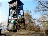 Debenji vrhrazgledni stolp na Debenjem vrhu