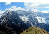 Goli vrh  1787 mnmčudoviti pogledi proti najvišjim vrhovom Kamniških Alpam